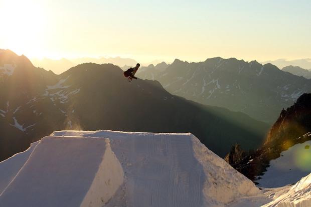 Alex Walch in una sunrise session