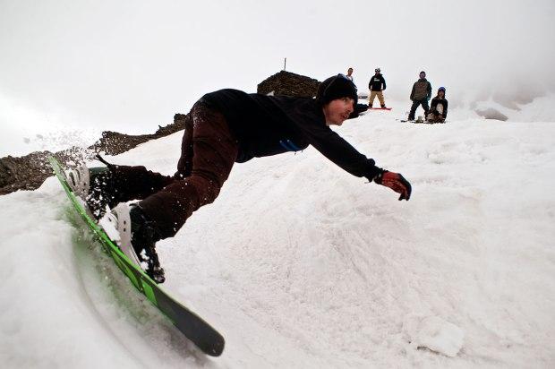 Nino Morel mini mega banked slalom